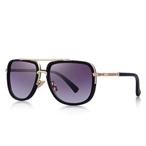 MERRY'S Fashion Men Sunglasses Classic Women Brand Designer Metal Square Sun Glasses UV400 Protection MSP662