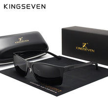 Load image into Gallery viewer, KINGSEVEN Brand Design Fashion Aluminum Magnesium Sunglasses Men Polarized Driving Eyewear For Men UV400 Oculos N7021