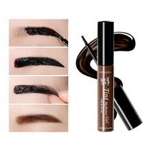 Load image into Gallery viewer, 3 Colors Natural Long Lasting Waterproof Peel Off Henna Eyebrow Gel Brown Color Make Up Eye Brow Tattoo Tint Eyebrows Enhancer