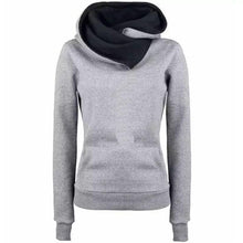 Load image into Gallery viewer, Women Letter Embroidered Pocket Hoodie