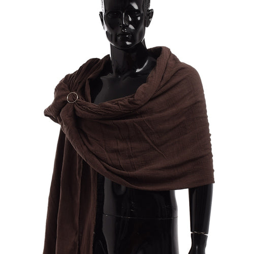 Men Medieval Scarf Brown Black Blue Wrap Cloak Primitive Hood Neckerchief Sjaal Middle Ages Mittelalter Shoulder Cowl