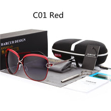 Load image into Gallery viewer, BARCUR Polarized Ladies Sunglasses Gradient Lens Women's Luxury Brand