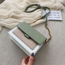 Load image into Gallery viewer, Mini Leather Crossbody Bags For Women 2019 Green Chain Shoulder Messenger Bag Lady Travel Purses and Handbags  Cross Body Bag