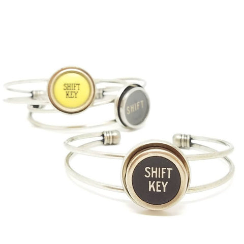 typewriter key cuff