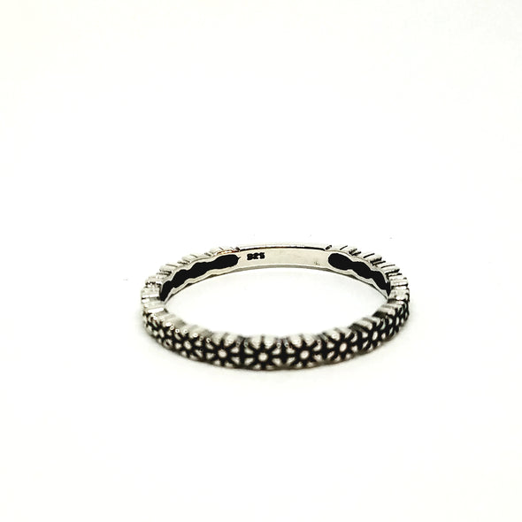 stacker floral ring - r104