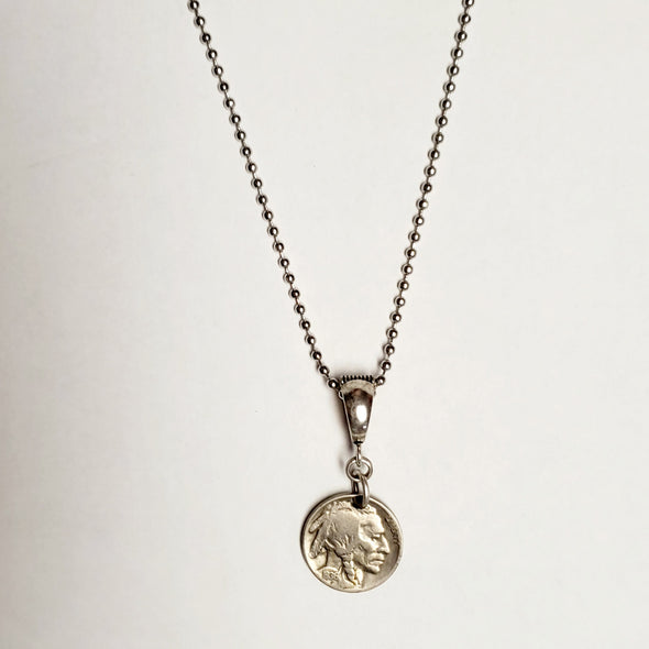vintage buffalo nickel pendants
