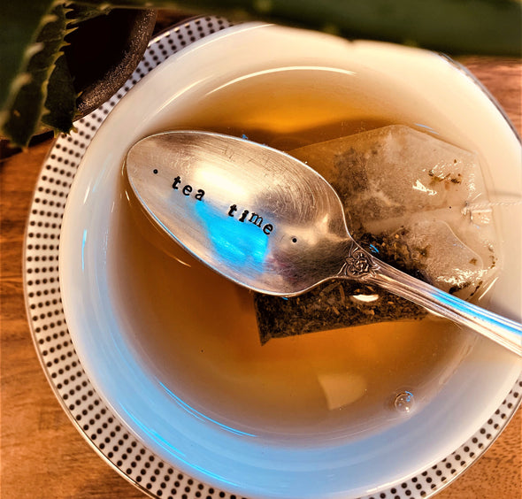 tea time spoon