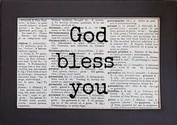 God bless you print