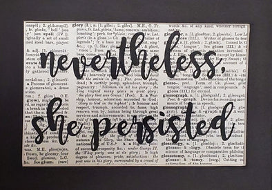 nevertheless persisted print