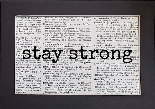 stay strong print