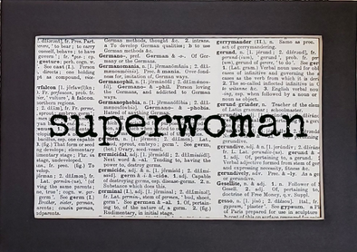 superwoman print