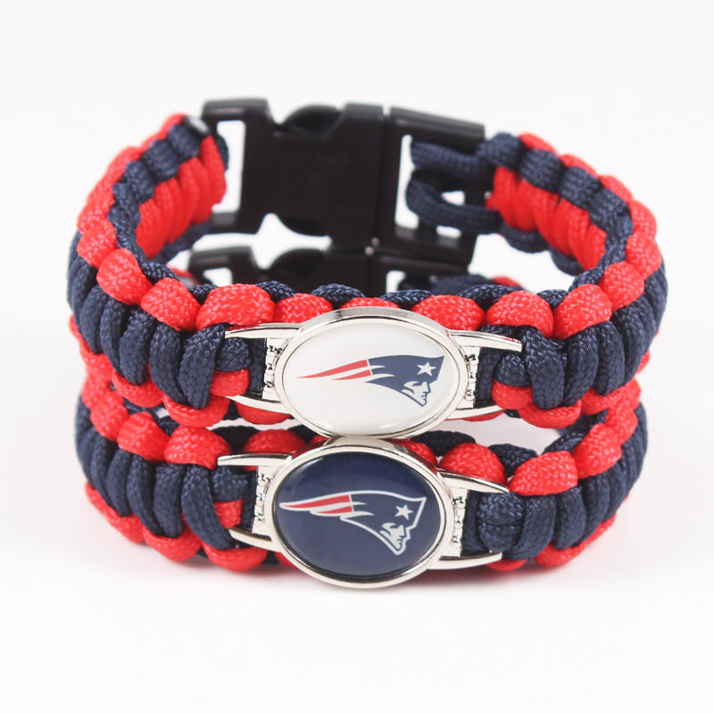 1pc New England Patriots Paracord Bracelet!