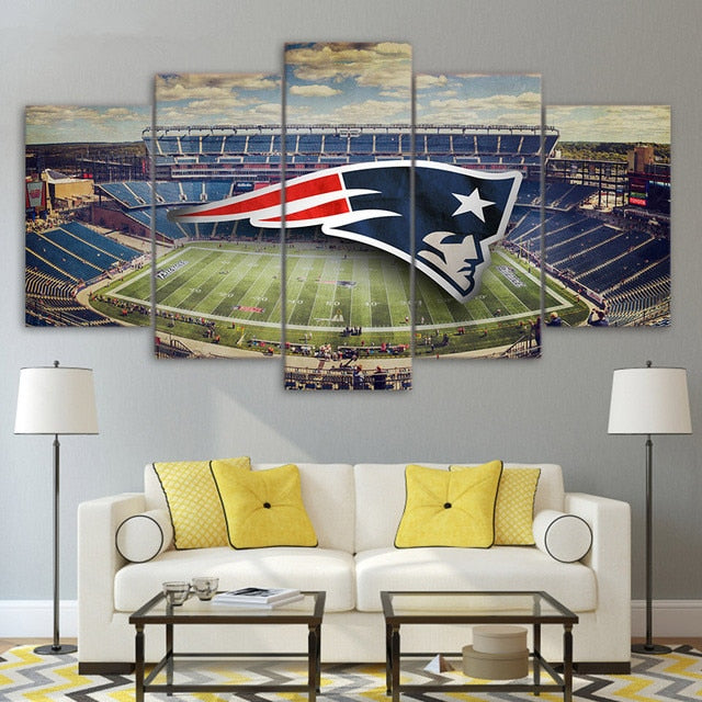 New England Patriots Stadium poster/canvas for Wall Decor!