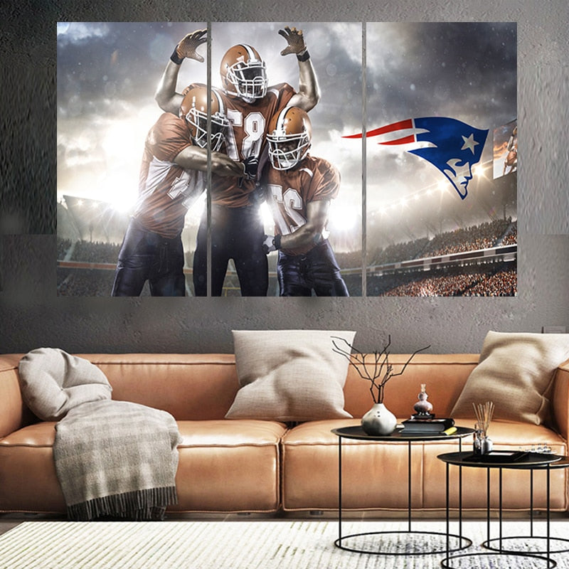 New England Patriots Celebratory Poster/Canvas!