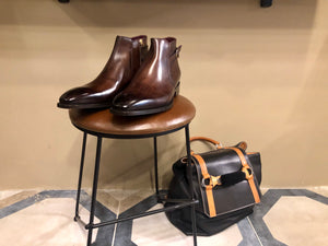 VENEZIA Cioccolato Leather - bvmilano.com