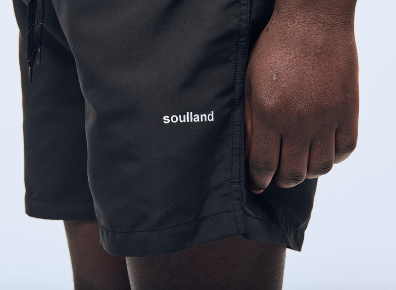 SOULLAND William shorts Shorts Black