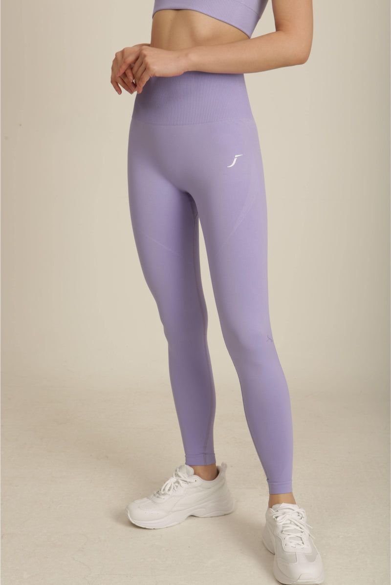 Lilac Seamless Activewear Gym Set