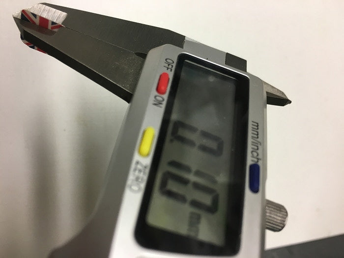 measuring thickness of camtag