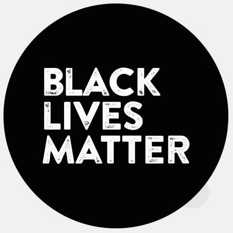 "opaque ""Black Lives Matter"" reusable macbook sticker by tabtag"