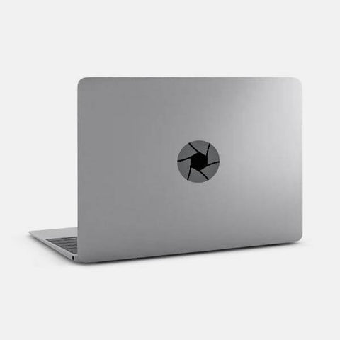 "opaque ""angle"" reusable macbook sticker on a mac by tabtag"