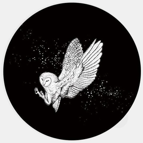 "glowing ""barn owl"" macbook sticker by tabtag"