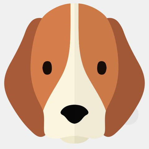 "opaque ""beagle"" reusable macbook sticker by tabtag"