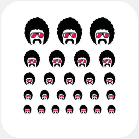 """giorgio"" reusable privacy sticker set by tabtag"