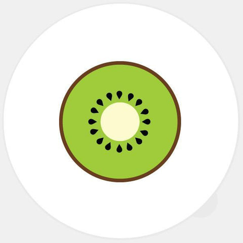 """kiwi"" glowing macbook sticker by tabtag"