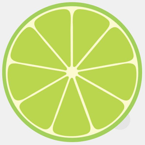 "opaque ""lime"" reusable macbook sticker by tabtag"