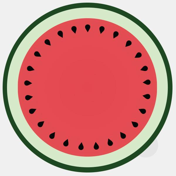 "opaque ""melon"" reusable macbook sticker by tabtag"