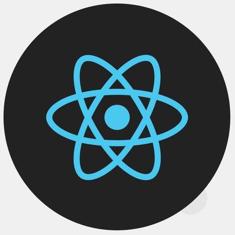 "opaque ""react"" reusable macbook sticker by tabtag"