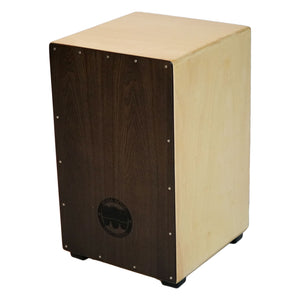 Satin Chocolate Stringed Flamenco Cajon