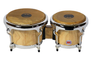Mambo Series Bongos in Natural Finish