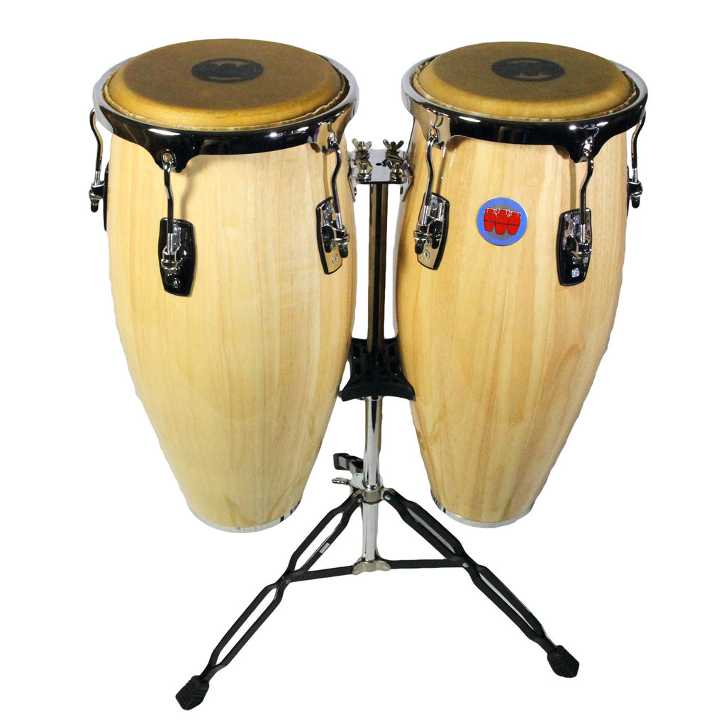 Mambo Series Congas in Natural Finish
