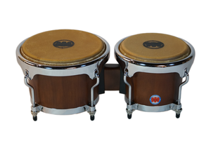 Mambo Series Bongos in Mahogany Finish