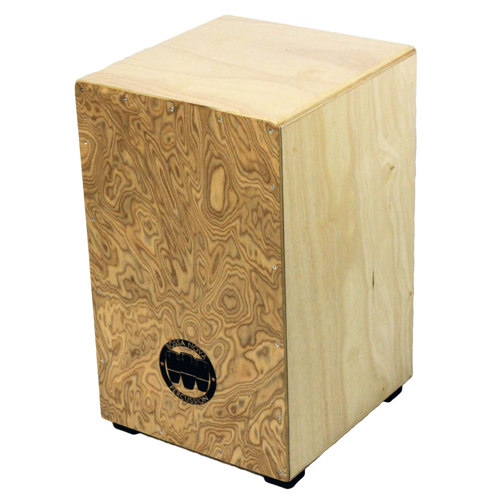 Makah Burl Stringed Flamenco Cajon