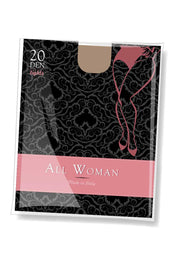 All Woman 20 denier tights