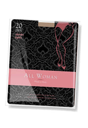 All Woman 20 denier shorter tights