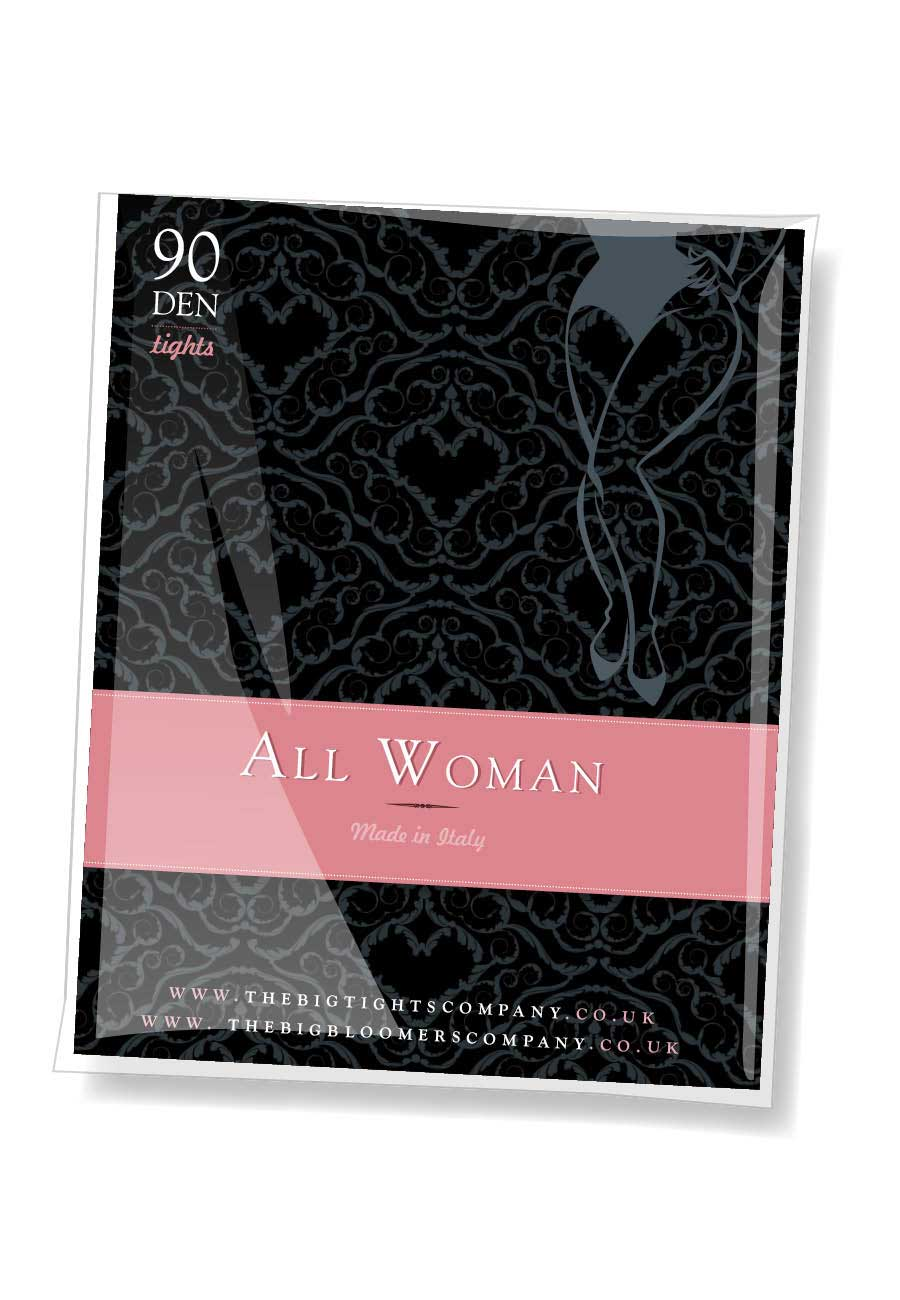 All Woman 90 denier tights