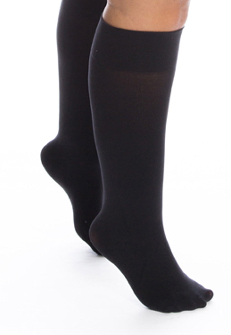 All Woman SuperWide 120 denier knee highs