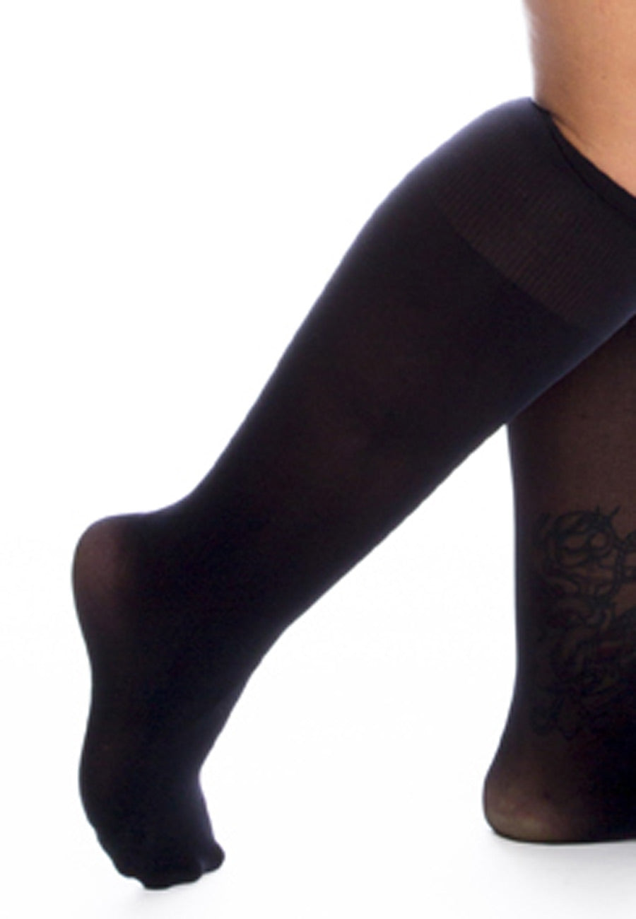 All Woman 50 denier luxury knee highs