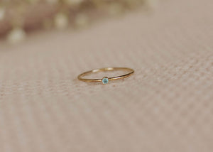 December Birthstone Ring