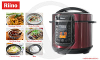Riino 5L Smart Intelligent All in One Multifunctional Cooking Almighty King Pressure Cooker