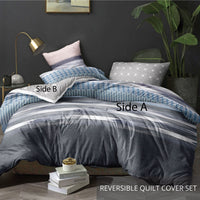 Relax Billie Fitted Sheet Set / Quilt Cover Set