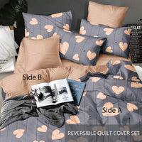 Relax Fallaz Fitted Sheet Set / Quilt Cover Set