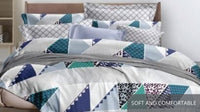 Relax Amazigh Fitted Sheet Set / Quilt Cover Set