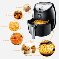 Aicook AF-11 4.3L XL Size 1500W Healthy Non Stick Smart Air Fryer