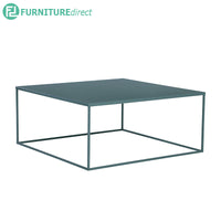 DARNELL (Square 80cm) Coffee Table – Metal lacquered – 3 colors