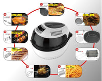 Riino 10L Intellegent All in One Turbo Air Fryer AF506E (White)
