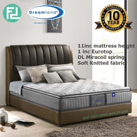 Dreamland Chiro Essential 2 Miracoil 11' Single Size Spring Mattress